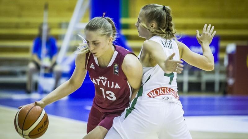 Ļiza Čumika: lielisks sniegums Eiropas U20 čempionāta izslēgšanas spēlēs. Foto: FIBA