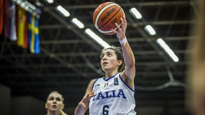 Itālijas kapteine Kostanca Verona. Foto: FIBA