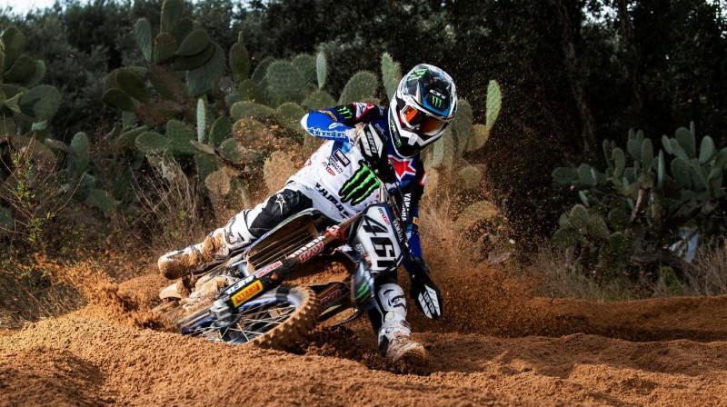 Romēns Fevrs. Foto: Yamaha MXGP