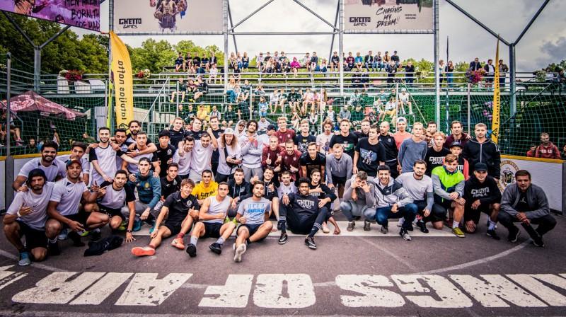 """""""Ghetto Champions League"""" Grīziņkalnā. Publicitātes foto"""