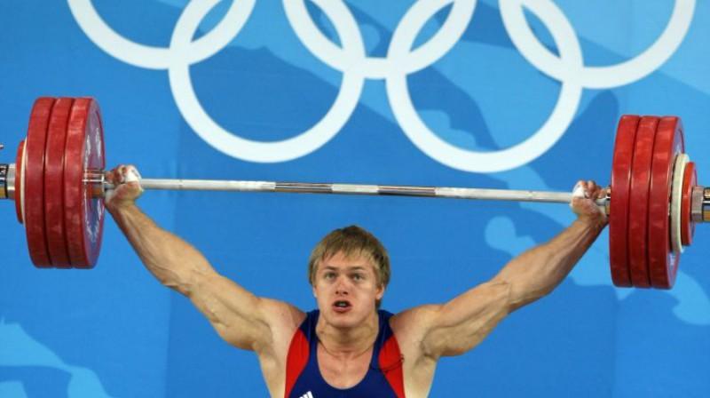 Dmitrijs Lapikovs 2008. gada olimpiskajās spēlēs. Foto: ITAR-TASS/Scanpix