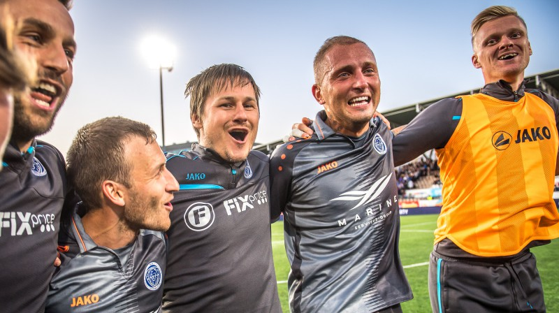 """Riga"" prieki Helsinkos / Foto: Zigismunds Zālmanis, ""Riga"" FC"