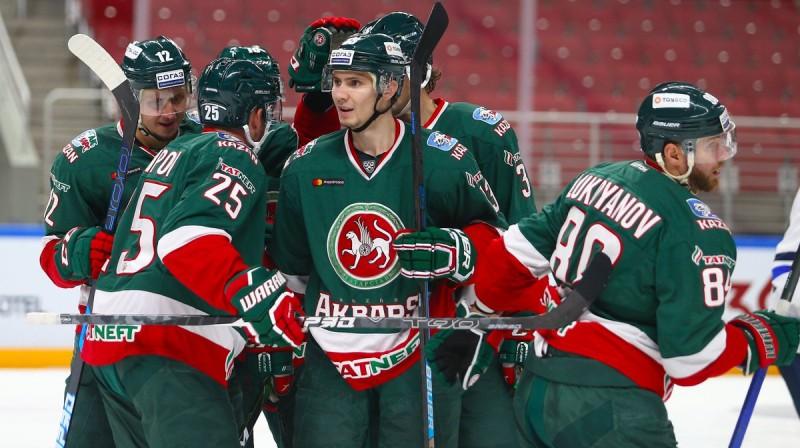 """Kazaņas """"Ak Bars"""" hokejisti. Foto: ak-bars.ru"""