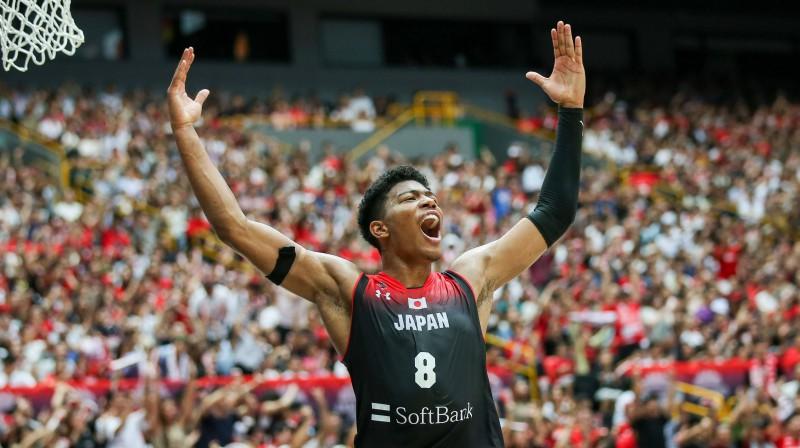 Japānas izlases basketbolists Rui Hačimura. Foto: Imago/Scanpix