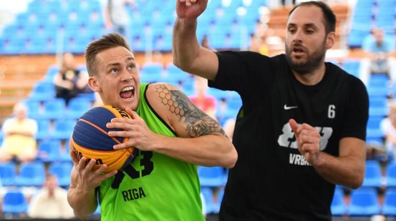 Kārlis Pauls Lasmanis. Foto: FIBA