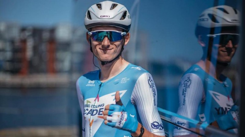 "Krists Neilands. Foto: ""Israel Cycling Academy"" arhīvs"
