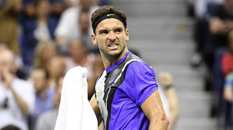 """Vai Grigors Dimitrovs pirmoreiz iekļūs """"Grand Slam"""" finālā? Foto: Reuters/Scanpix"""