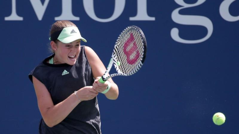Aļona Ostapenko. Foto: USA Today Sports/Scanpix
