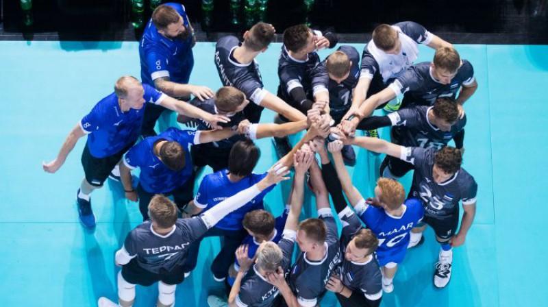 Igaunijas volejbola izlase. Foto: Postimees Grupp/Scanpix Baltics