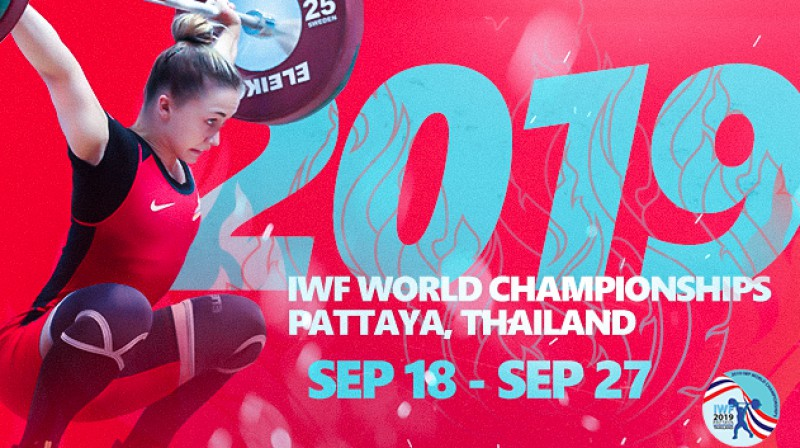 Rebeka Koha - pasaules čempionāta reklāmas seja. Foto: iwf.net
