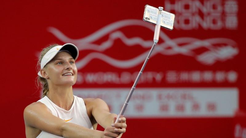 Pērn Honkongā uzvarēja 18 gadus vecā ukrainiete Dajana Jastremska. Foto: AFP/Scanpix