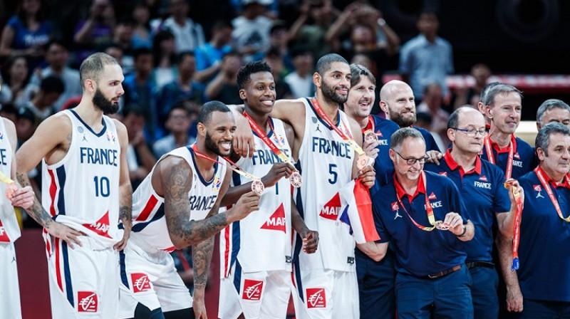 Evans Furnjē (#10) paslēpa bronzas medaļu. Foto: FIBA