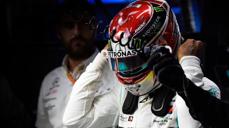 F1 čempions Lūiss Hamiltons. Foto: Mercedes-AMG Petronas Motorsport