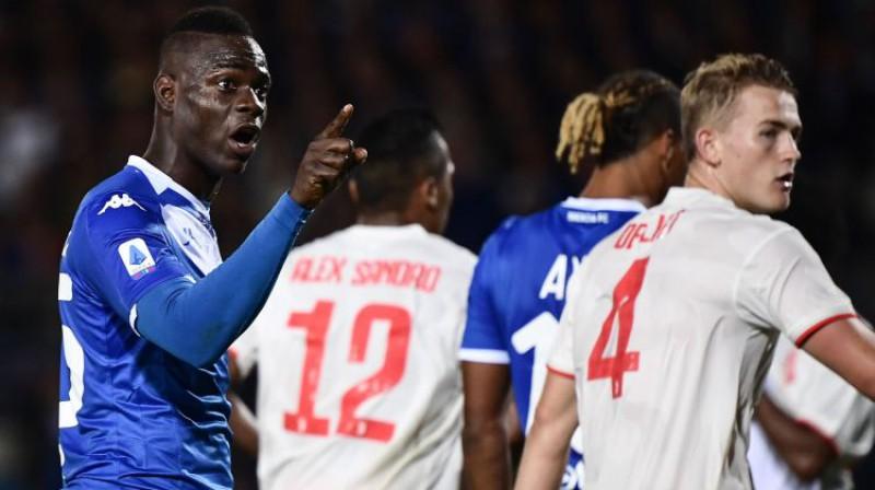 """Mario Balotelli pret """"Juventus"""". Foto: AFP/Scanpix"""