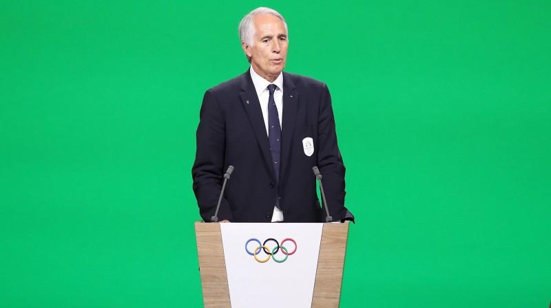 Itālijas Olimpiskās komitejas prezidents Džovanni Malago. Foto: imago images / Xinhua / Scanpix