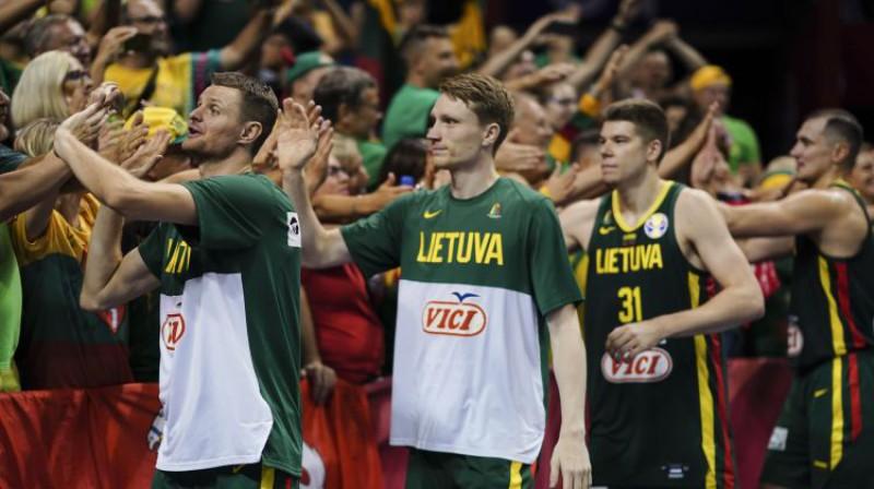OS atlases turnīrā piedalīsies arī Lietuvas izlase. Foto: CHINE NOUVELLE/SIPA/Scanpix