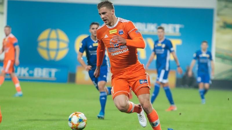 Vladislavs Gutkovskis. Foto: Bruk-Bet Termalica Nieciecza KS