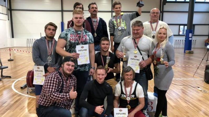 Foto: Latvijas Pauerliftinga federācija