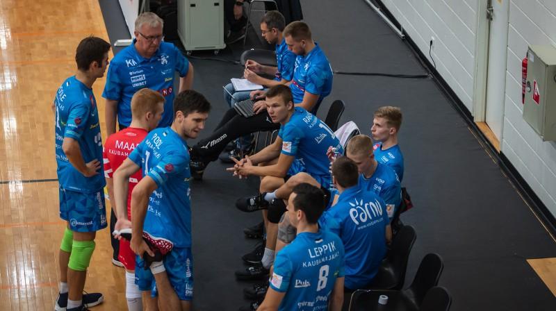 """Avo Kēla trenētā """"Parnu"""" komanda. Foto: Aivar Kütt"""