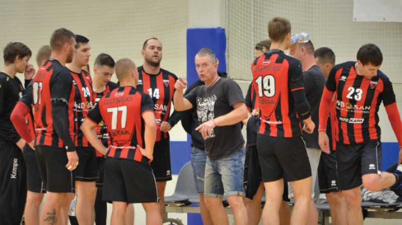 """""""Celtnieks Rīga"""". Foto: handball.l"""