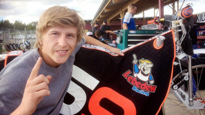 """Andžejs Ļebedevs tagad ir arī Krievijas čempions Vladivostokas """"Vostok"""" rindās."""
