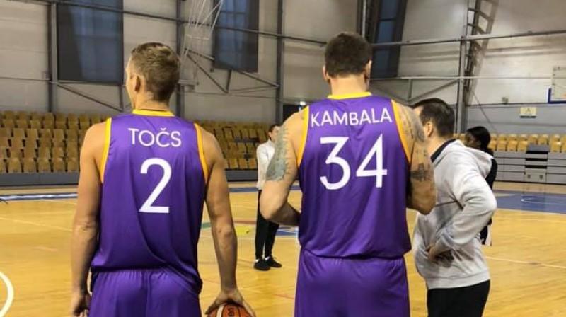 Edgars Točs un Kaspars Kambala. Foto: Inita Kresa-Katkovska