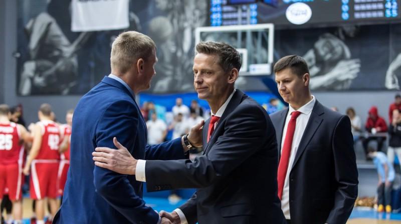 """Kārlis Muižnieks pēc uzvaras pār """"Dņipro"""". Foto: Prometey"""