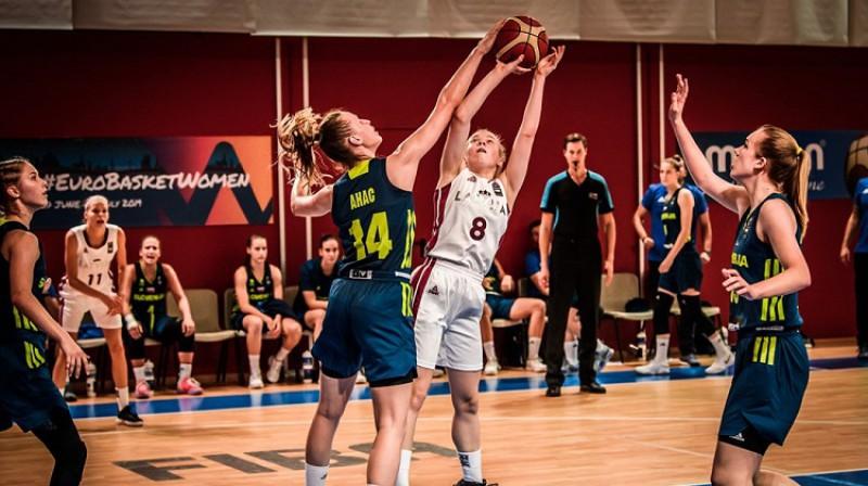Viktorija Ivanova: uzvaras grozs pār Daugavpils Universitāti. Foto: FIBA