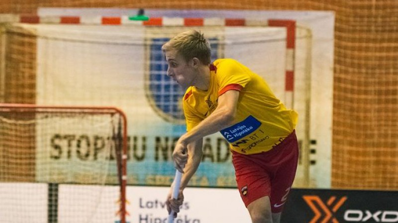 Lauris Zaicevs joprojām ir rezultatīvākais ulbrokiešu sezonas spēlētājs Foto: Māris Greidāns (FS Masters)