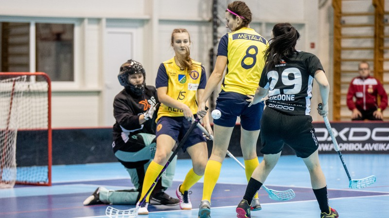 "Gaidāms trešais duelis starp FK ""Ķekava"" un ""Rubeni"" Foto: Floorball.lv"