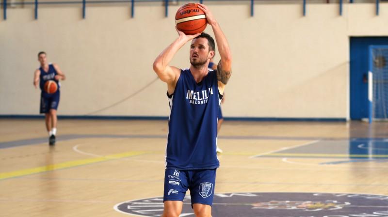 Andris Misters. Foto: Club Melilla Baloncesto
