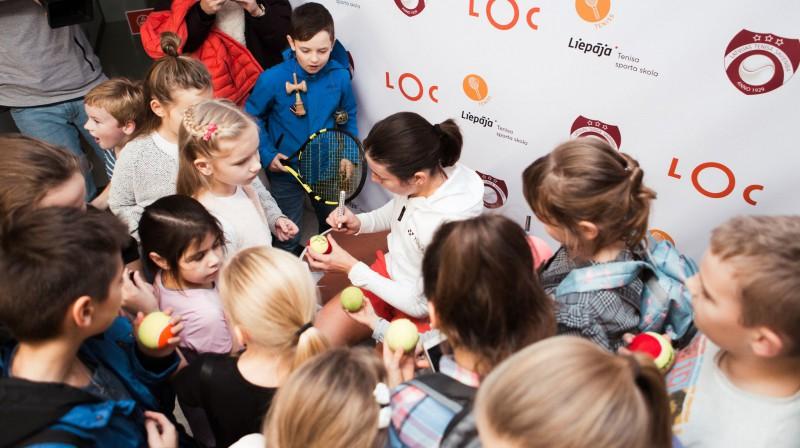 Anastasija Sevastova. Foto: Liepājas Tenisa sporta skola
