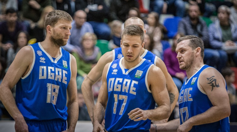 "BK ""Ogres"" basketbolisti. Foto: BK Ogre"