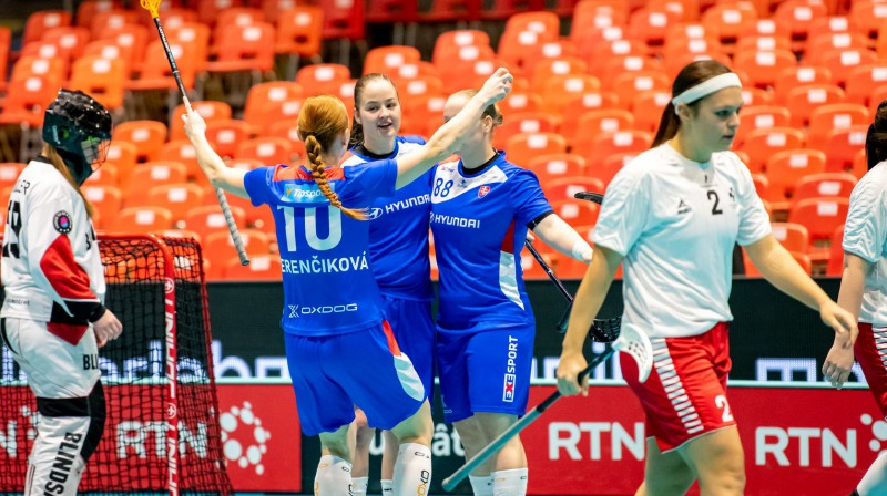 Slovākijas izlase Foto: IFF Floorball