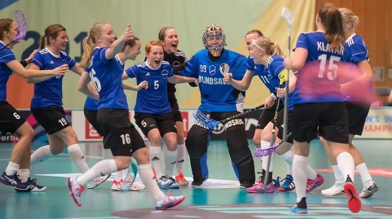 Igaunijas izlase Foto: IFF Floorball