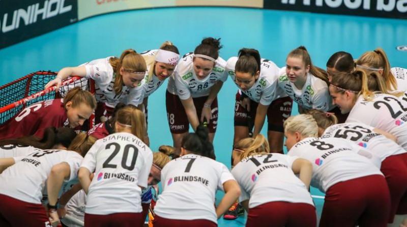 Latvijas izlase Foto: Ritvars Raits, Floorball.lv
