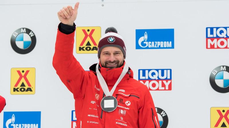 Martins Dukurs. Foto: Viesturs Lācis/bobslejs.lv