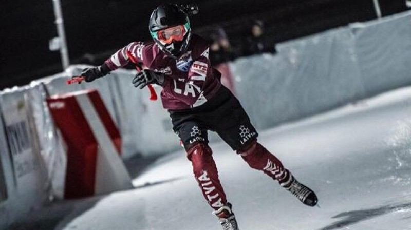 Justīne Zonne. Foto no sportistes Instagram profila