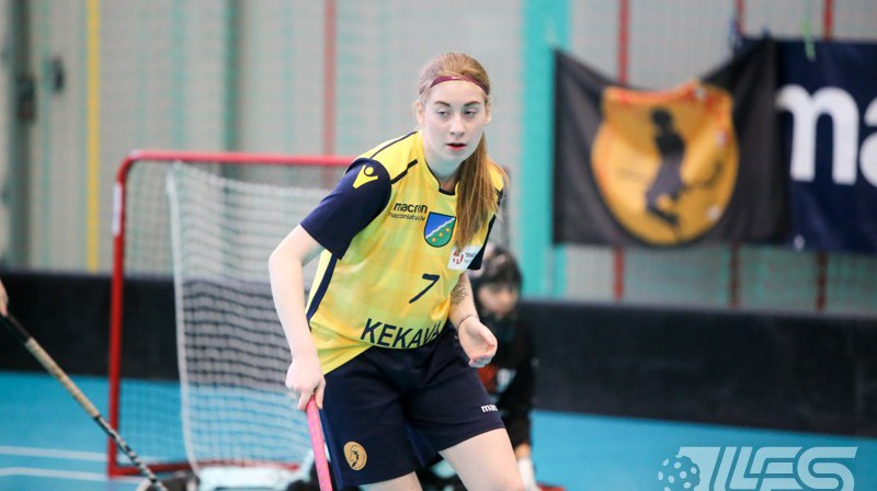 Klinta Mārtiņjēkaba (FK Ķekava). Foto: Ritvars Raits, floorball.lv