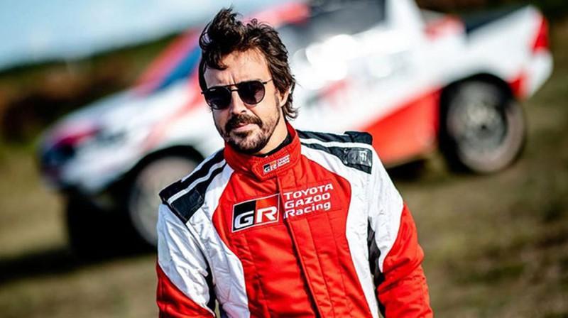Fernando Alonso. Foto: Toyota Gazoo Racing