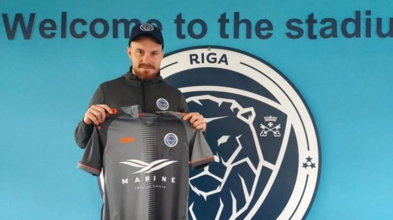 Jakubs Hora. Foto: Riga FC
