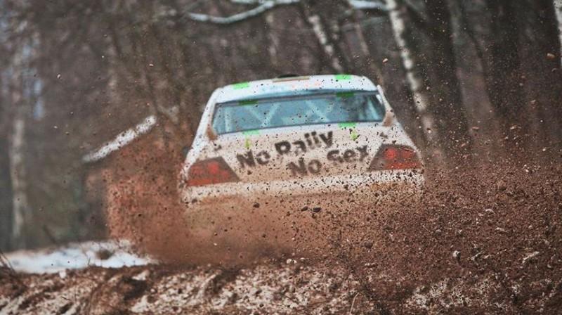 Giedrius Notkus. Foto: Winter Rally