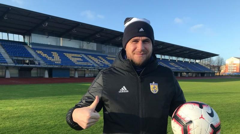 """Viorels Frunze. Foto: FK """"Ventspils"""""""