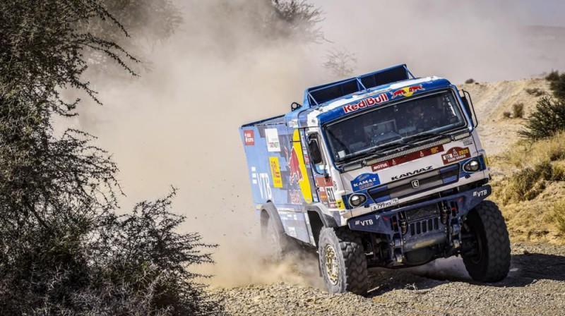 Smago auto klases uzvarētājs Andrejs Karginovs. Foto: Dakar.com