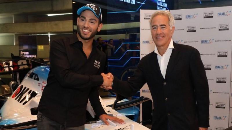 Rojs Nisanī (no kreisās). Foto: Williams F1