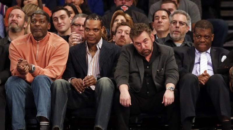 """""""Knicks"""" īpašnieks Džeimss Dolans. Foto: USA Today/Scanpix"""