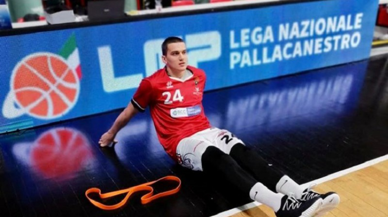 Andrejs Gražulis. Foto: Derthona Basket