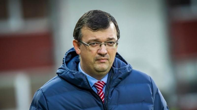 Dainis Kazakevičs. Foto: Latvijas Futbola federācija