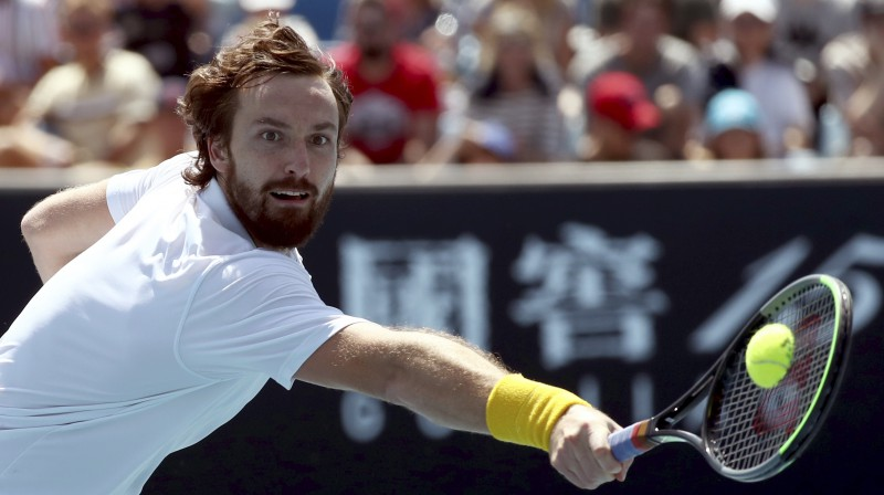 Ernests Gulbis. Foto: Reuters/Scanpix