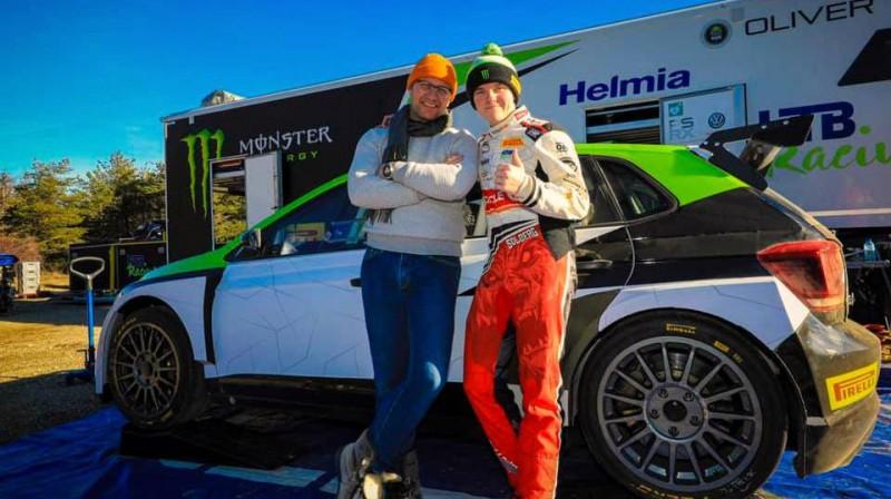 Peters un Olivers Solbergi pirms Montekarlo WRC rallija starta